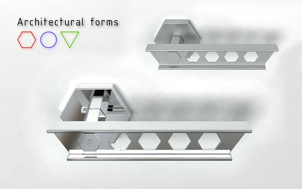 0 Architectural Forms Door Handle