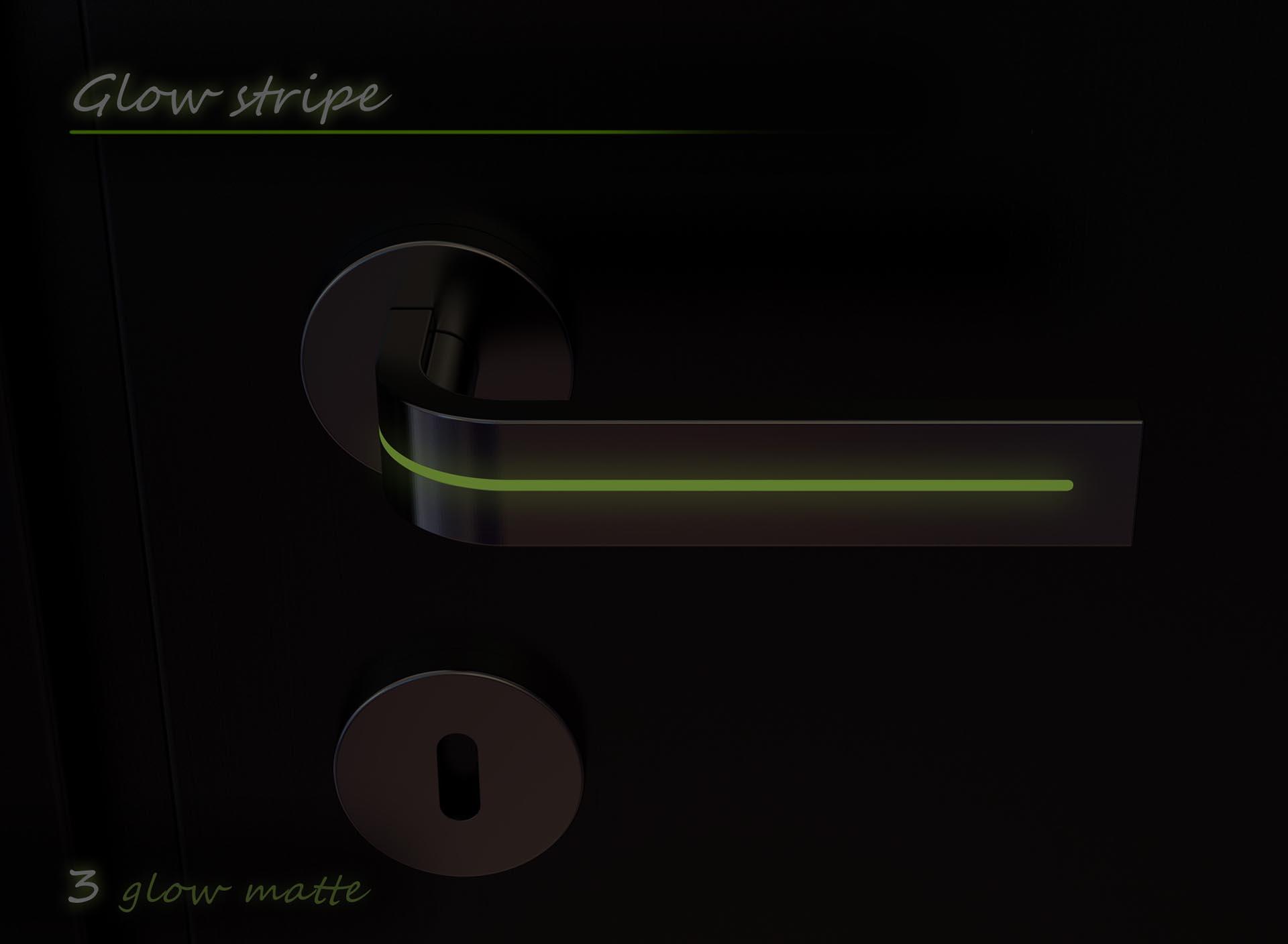 Glow Stripe Door Handle 08