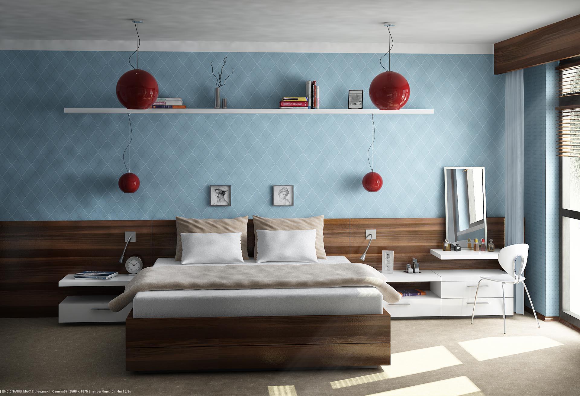 Bedroom – in blue