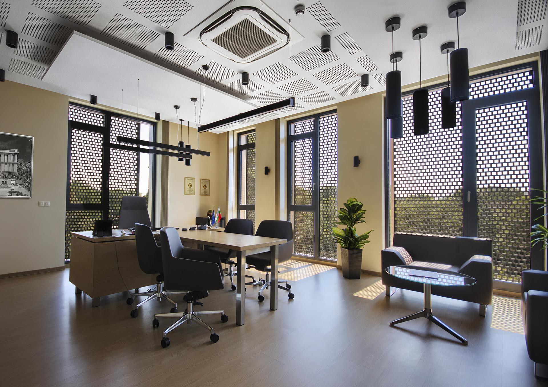Mr. Kalistratov's Office