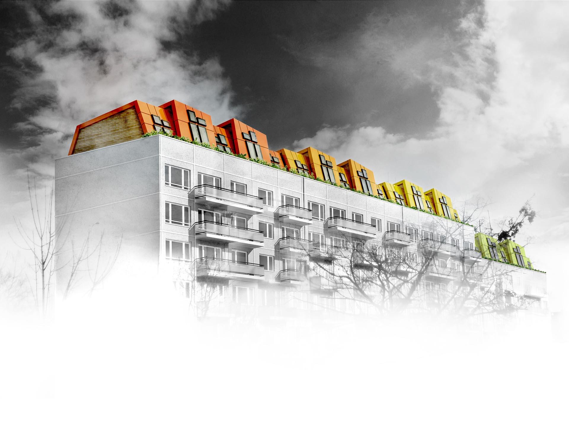 The Loft as a Colourful Shell 03