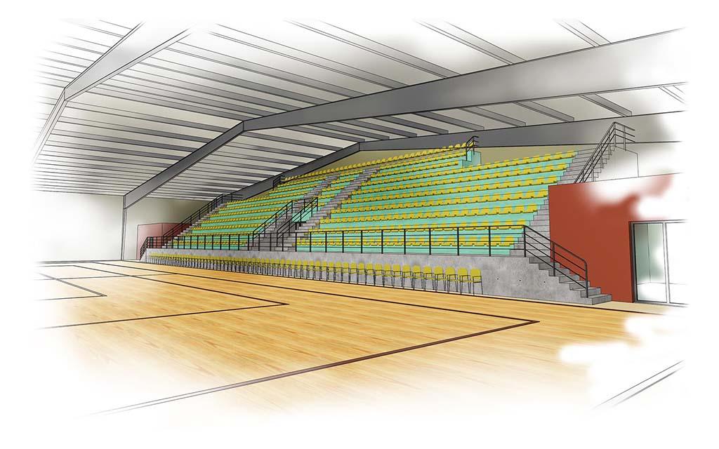 0 Multisports Hall