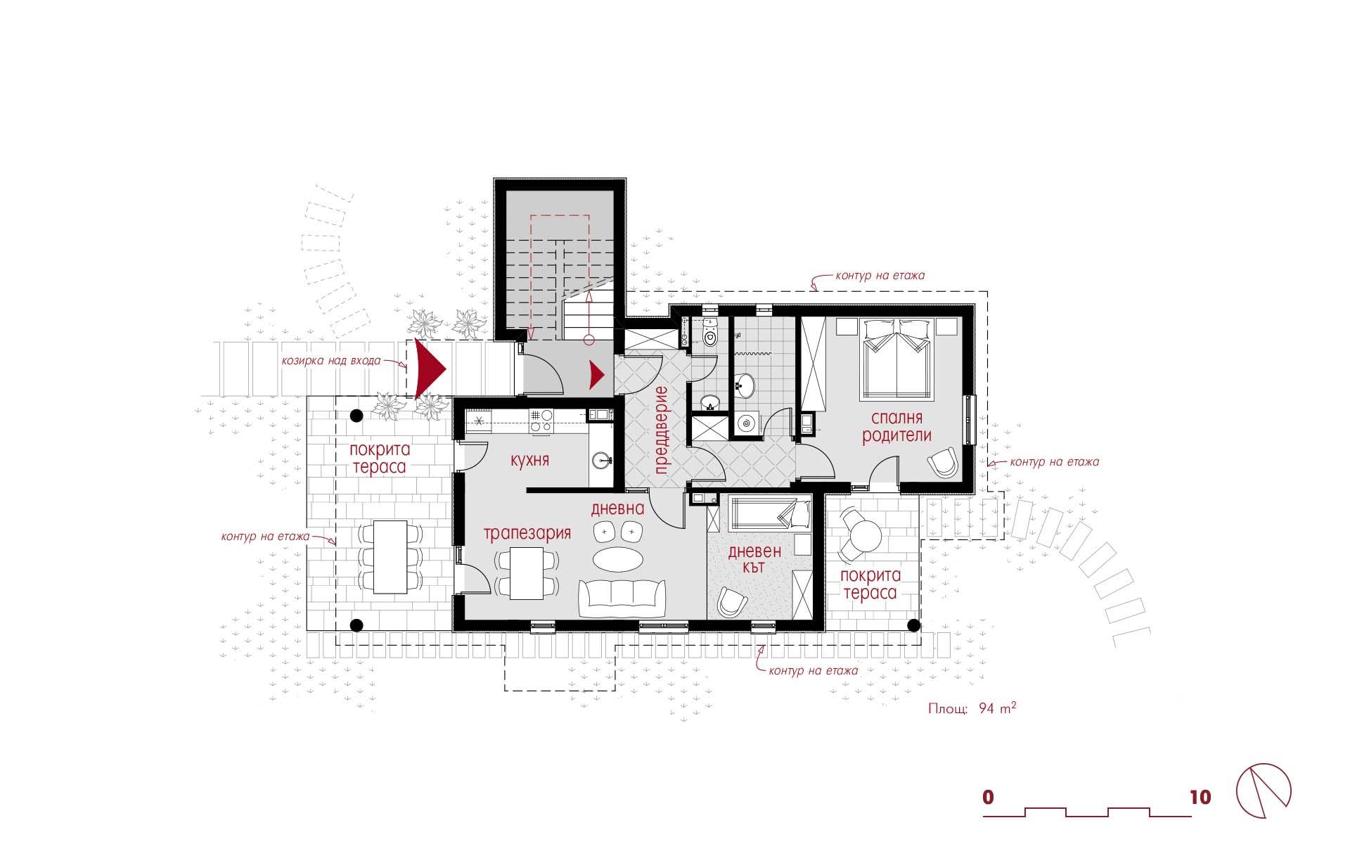 Ground Storey Floorplan